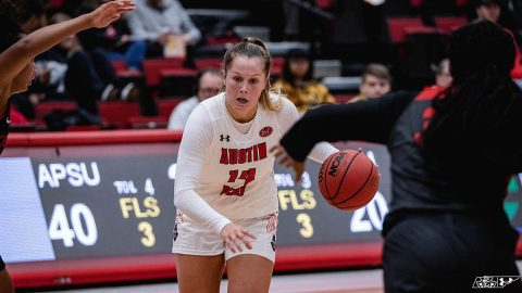 Austin Peay State University Women's Basketball finishes two game road trip Monday at Mississippi Valley State. (APSU Sports Information)