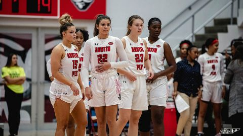 Austin Peay State University Women's Basketball plays Evansville at the Dunn Center, Thursday. (APSU Sports Information)