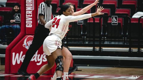 Austin Peay State University Women's Basketball beat Christian Brothers 82-62 Friday night at the Dunn Center. (APSU Sports Information)