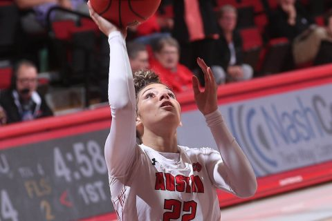 Austin Peay State University Women's Basketball player Tahanee Bennell names OVC Newcomer of the Week, Shay-Lee Kirby named OVC Freshman of the Week. (APSU Sports Information)