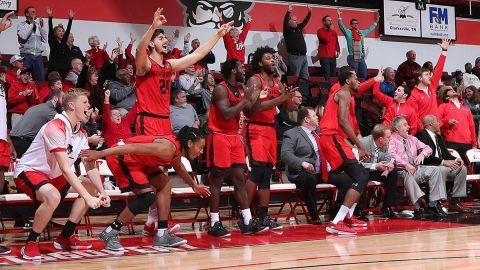 Austin Peay State University Men's Basketball goes on a 22-0 second half run to defeat Southeastern Louisiana 81-60 at the Dunn Center Saturday night. (APSU Sports Information)