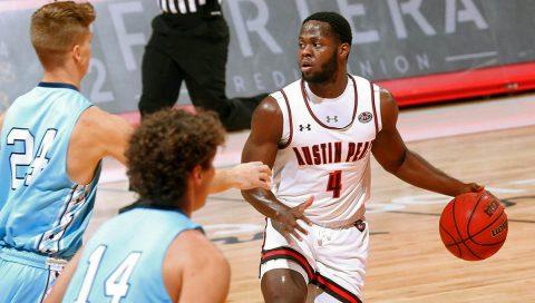 Austin Peay State University Men's Basketball beats Oakland City to kick off 2019-20 season. (APSU Sports Information)