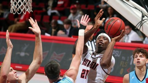 Austin Peay State University Men's Basketball junior Terry Taylor. (APSU Sports Information)