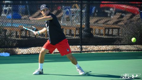 Austin Peay State University Men's Tennessee sophomore Jacob Lorino leads Governors at UTC Steve Fall Classic. (APSU Sports Information)