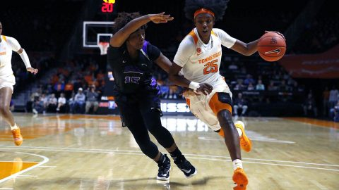 Tennessee Women's Basketball gets 63-36 victory over Central Arkansas Thursday night at Thompson-Boling Arena. (UT Athletics)