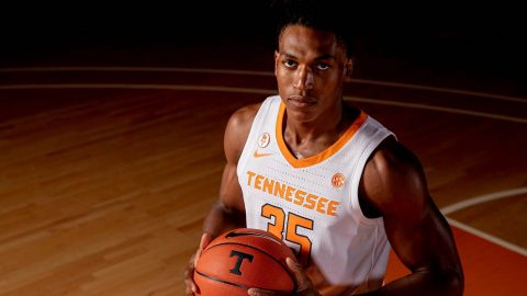 Tennessee Men's Basketball hosts Chattanooga Monday Night. (UT Athletics)