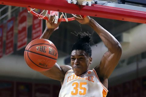 Tennessee Men's Basketball unable to get on track against Florida State Friday night. (UT Athletics)