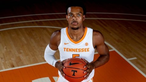 Tennessee Men's Basketball takes to the court this afternoon to face the VCU Rams in the Emerald Coast Classic. (UT Athletics)