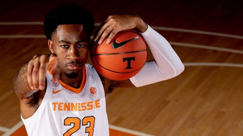 Tennessee Men's Basketball plays UNC Asheville Tuesday night at Thompson-Boling Arena. (UT Athletics)