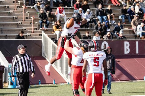 Austin Peay State University Football takes down Eastern Kentucky on the road, 28-21 in overtime, Saturday. (APSU Sports Information)