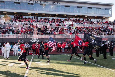 Austin Peay State University Governors Football takes next step towards OVC Title at Murray State, Saturday. (APSU Sports Information)