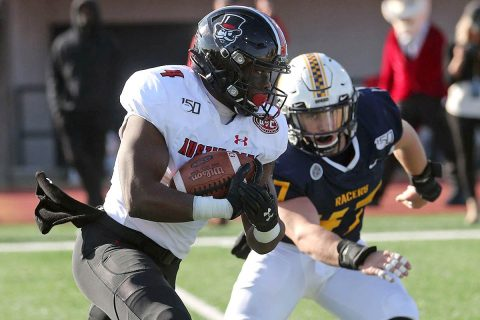Austin Peay State University Football racked up 295 yards rushing against Murray State. (APSU Sports Information)