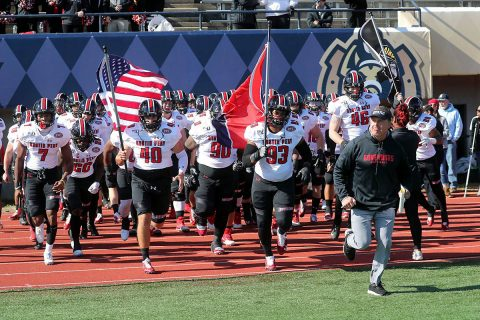 Austin Peay State University Football hosts Eastern Illinois Saturday at Fortera Stadium. A win makes the Govenrors the 2019 Ohio Valley Conference Football Champions. (APSU Sports Information)