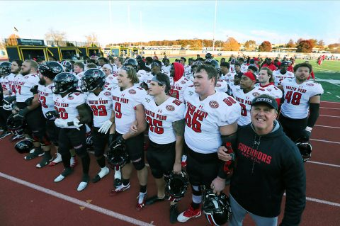 Austin Peay State University Football hosts Eastern Illinois Saturday with OVC Title on the line. (Robert Smith, APSU Sports Information)