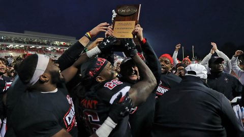 Austin Peay State University Football is the 2019 OVC Champions. On Sunday, the Governors will find out their opponent for the first round game of the postseason. (APSU Sports Information)