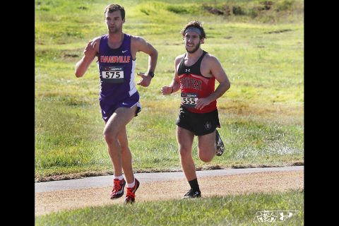 Austin Peay State University Men's Cross Country finishes season strong at OVC Championships. (Robert Smith, APSU Sports Information)