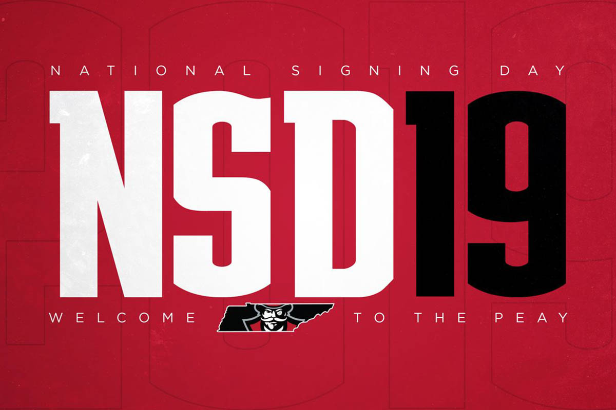 2019 Austin Peay State University National Signing Day. (APSU)