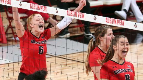 Austin Peay State University Women's Volleyball hits the road to take on Southeast Missouri, UT Martin and Murray State this week. (APSU Sports Information)