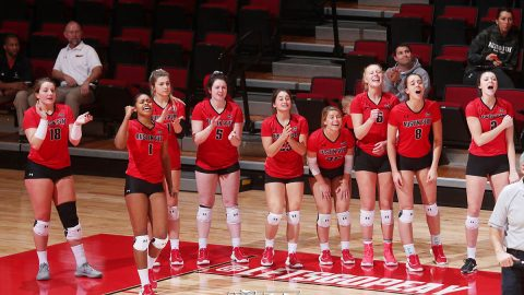 Austin Peay State University Women's Volleyball closes out the regular season with a trip to Murray State, Wednesday and then hosting Eastern Kentucky, Saturday. (APSU Sports Information)