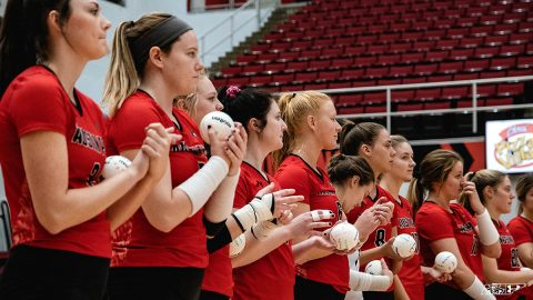 Austin Peay State University Women's Volleyball begins the OVC Tournament facing Morehead State, Thursday. (APSU Sports Information)