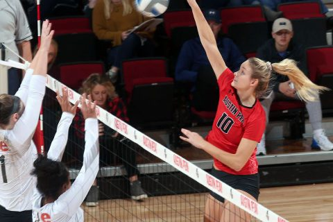Austin Peay State University Women's Volleyball kicks off the OVC Tournament facing Morehead State, Thursday. (APSU Sports Information)