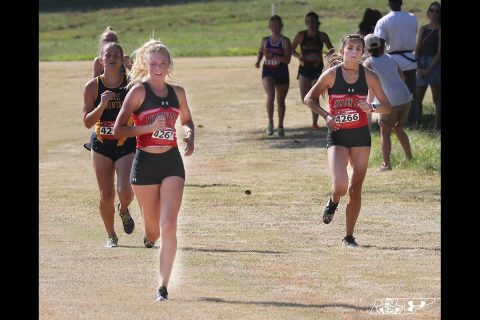 Austin Peay State University Women's Cross Country places 10th at OVC Championships. (Robert Smith, APSU Sports Information)