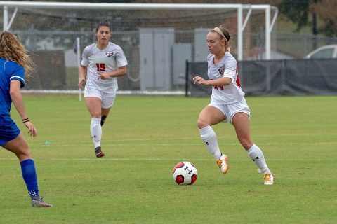 Austin Peay State University Women's Soccer sees it season end with 1-0 loss to Belmont at the OVC Championship. (APSU Sports Information)