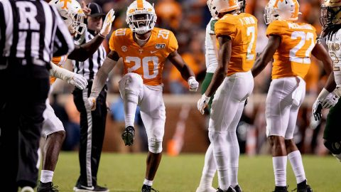 Tennessee Vols Football takes on the Kentucky Wildcats in Lexington this Saturday at 6:30pm CT. (UT Athletics)