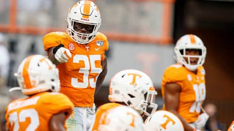 Tennessee Vols Football takes to the road Saturday to play the Missouri Tigers. (UT Athletics)