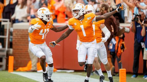 Tennessee Vols Football takes on rival Vanderbilt at Neyland Stadium Saturday afternoon. (UT Athletics)