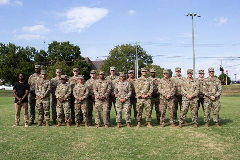 Twenty of the 117 cadets at Austin Peay State University have served in 41 combat tours. (APSU)
