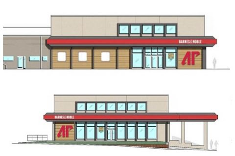 Artist rendition of Austin Peay State University's new College Street Bookstore. (APSU)