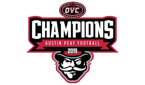 Austin Peay State University Football - 2019 OVC Champions. (APSU Sports Information)