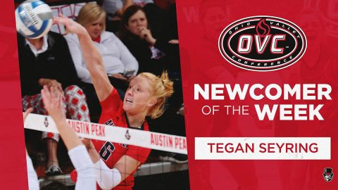 Austin Peay State University Volleyball's Tegan Seyring. (APSU Sports Information)