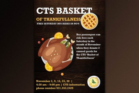 Basket of Thankfulness will help Manna Cafe serve people in need.