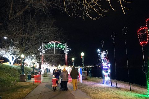 Christmas Light Run proceeds will be used to purchase new light displays for Christmas on the Cumberland.