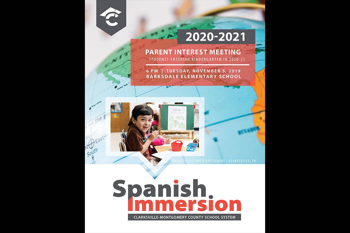Clarksville-Montgomery County School System Spanish Immersion Program