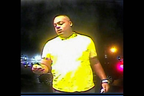Clarksville Police are asking for help identifying the man in this photo for depositing a counterfeit check.