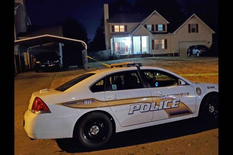 Clarksville Police are investigating a Home Invasion that took place on Dandelion Drive. Two were found Dead. (Jim Knoll, CPD)