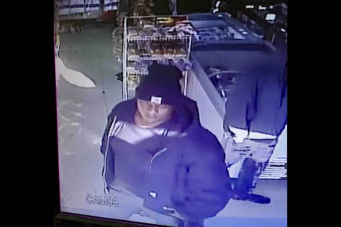 Clarksville Police are trying to identify the man in this photo for using a stolen credit card.