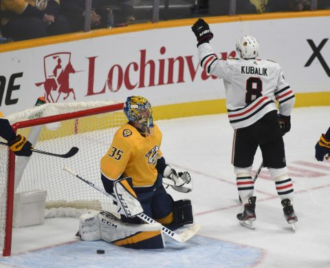 Nashville Predators Chicago Blackhawks