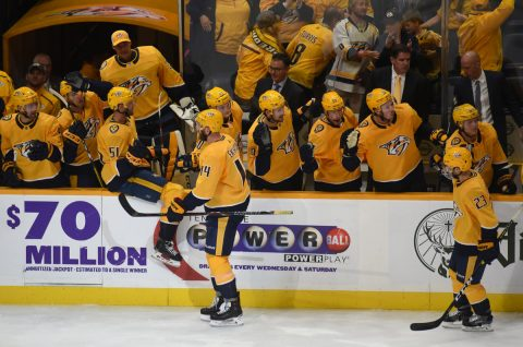 Nashville Predators Fall To The Winnipeg Jets 2-1