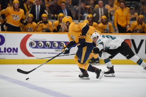 Nashville Predators fall to the Edmonton Oilers 4-2 (Michael Strasinger)