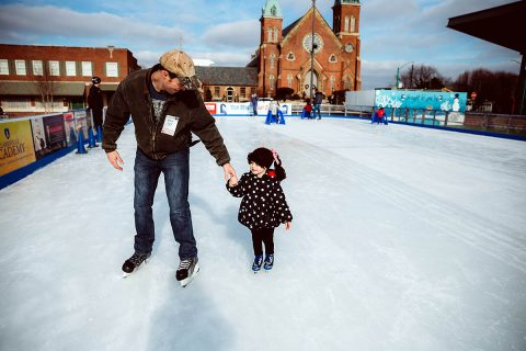 The Downtown Commons' Winter Ice Rink is set to open Tuesday, November 26th.