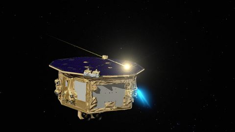 European Space Agency's LISA Pathfinder. (ESA)
