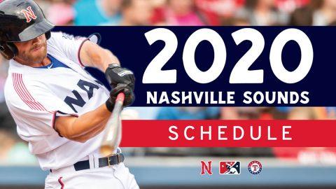 Nashville Sounds 2020 Schedule released. (Nashville Sounds)