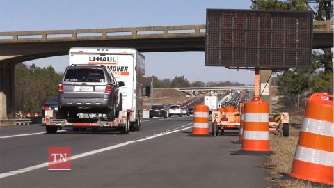 New interchange on Interstate 65 at State Route 109 project completion is estimated for late spring 2020.
