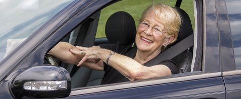 Lack of comfort or confidence on the road can cause older adults to make unnecessary changes or reduce their driving. (AAA)