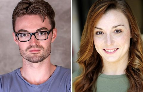 "Ian Alexander Erbe and Shelby Brown star in William Shakespeare's ""Romeo & Juliet"" at the Roxy Regional Theatre, November 8th - 16th"