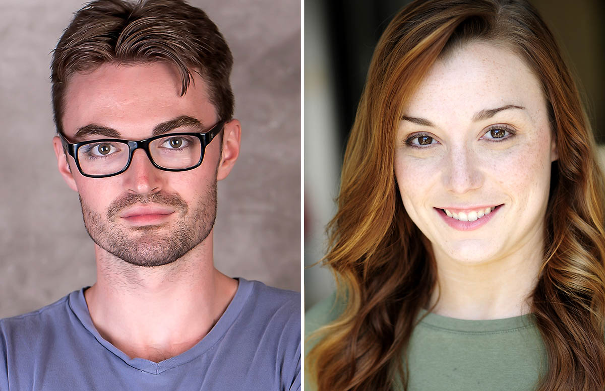 Ian Alexander Erbe and Shelby Brown star in William Shakespeare's